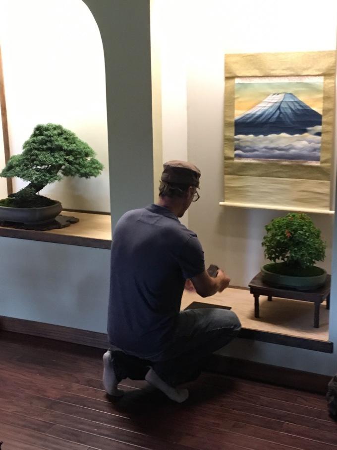 Studying Keido at CascadiaBonsai-